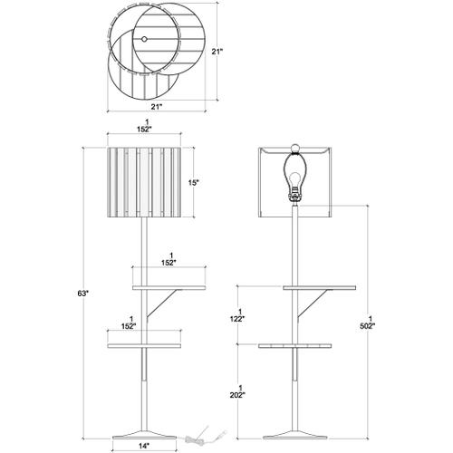 Gallery - Standing Lamp with Tray B
