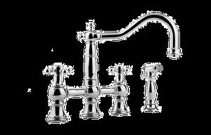 Canterbury Bridge Kitchen Faucet w/ Side Spray Product Image
