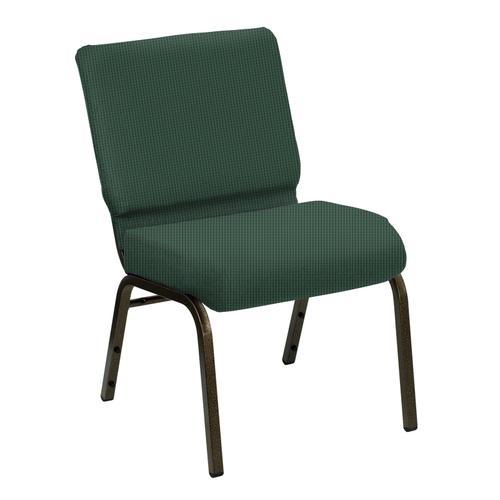 Wellington Aspen Upholstered Church Chair - Gold Vein Frame