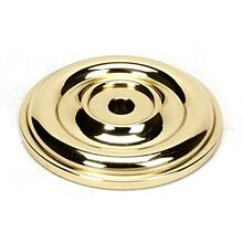 Bella Rosette A1453 - Polished Brass