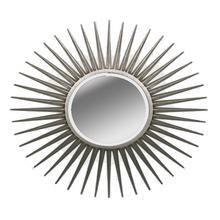 Sunburst Black Round Mirror by Ultimate Accents