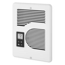 See Details - Intelligent fan-forced Heater, 1600/1500/1000W 240/208/120V, White