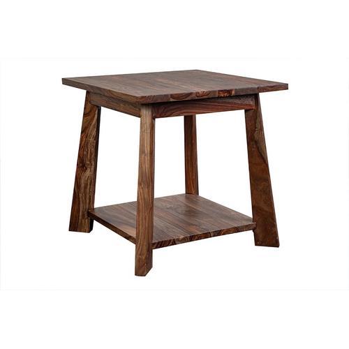 Porter International Designs - Kalispell Harvest End Table, PDU-113-HRU