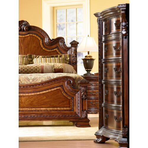 Old World California King Estate Bed