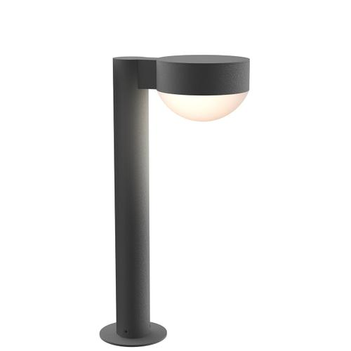 """Sonneman - A Way of Light - REALS® LED Bollard [Size=16"""", Color/Finish=Textured Gray, Lens Type=Plate Cap and Dome Lens]"""