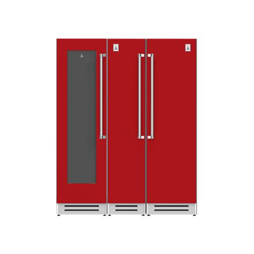 "Hestan - 66"" Wine Cellar (L), Column Freezer and Refrigerator ® Ensemble Refrigeration Suite - Matador"