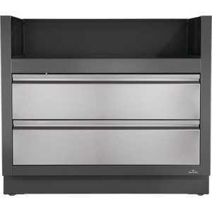 Napoleon GrillsOASIS Under Grill Cabinet for BIPRO665 for Built-in Prestige PRO 665 , Grey