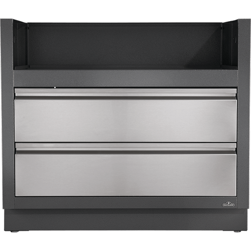 Napoleon BBQ - OASIS Under Grill Cabinet for BIPRO665 for Built-in Prestige PRO 665 , Grey