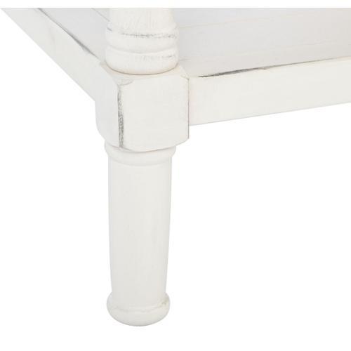 Safavieh - Filbert 2 Drawer Coffee Table - Distressed White