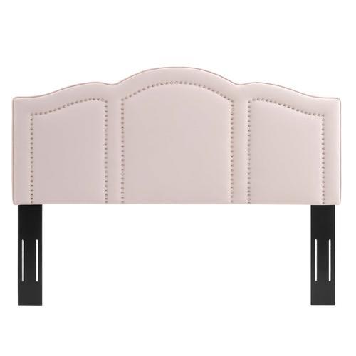 Cecilia Twin Performance Velvet Headboard in Pink