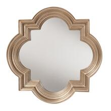 See Details - The Gatsby Wall Mirror With Platinum Gold Frame
