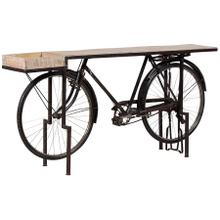 View Product - Highway Bicycle Console Table
