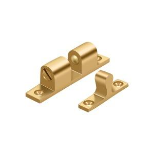 """Deltana - Ball Tension Catch 2-1/4"""" x 1/2"""" - PVD Polished Brass"""