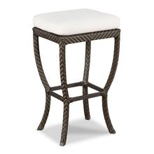See Details - Woven Outdoor Backless Bar Stool