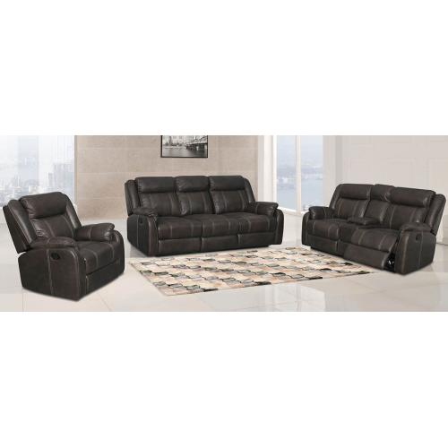 Gallery - Double Reclining Console Loveseat