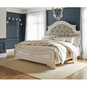 Realyn Queen Upholstered Panel Headboard