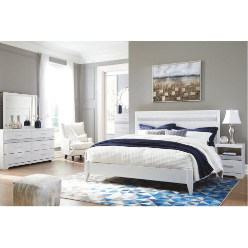 Jallory King Panel Bed