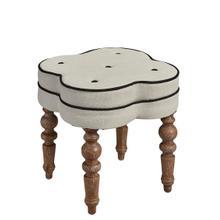 Linen Footstool