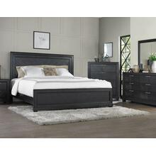 Montana King Bed, Dark Oak