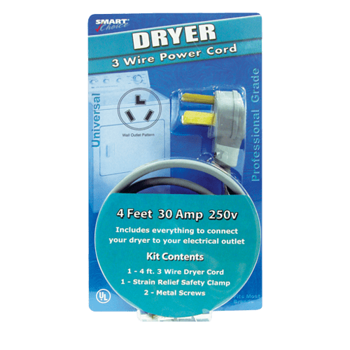 Frigidaire - Smart Choice 6' Insulated Power Cord