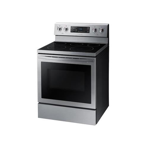 5.9 cu. ft. Freestanding Electric Range with Air Fry and Convection in Stainless Steel