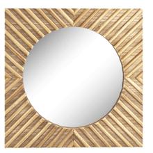 See Details - Angle Inlay Wall Mirror