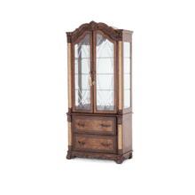 Victoria Palace Display Cabinet w/Doors Light Espresso