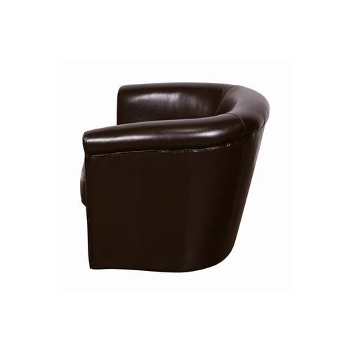 Porter International Designs - Marvel Chocolate Swivel Chair, AC210