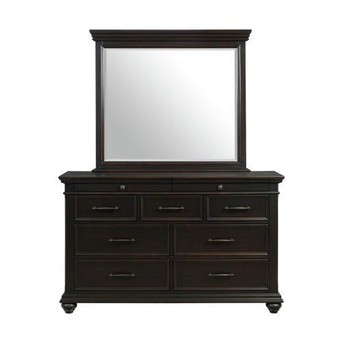 Product Image - Slater Dresser & Mirror Set Black