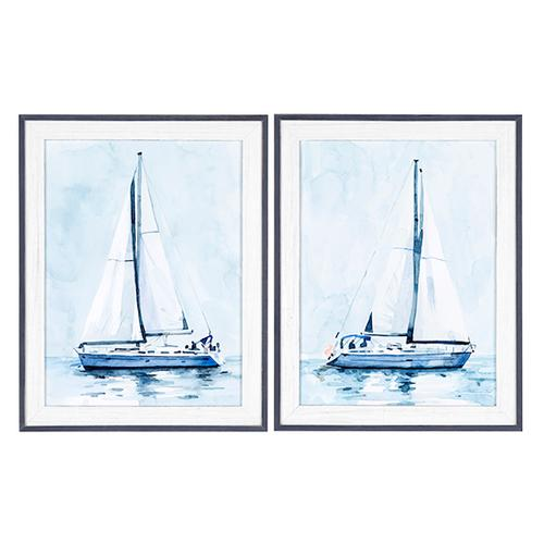 Crestview Collections - Lone Sailboat 1 & 2