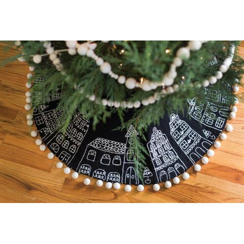 "46""x 1"" Parish Tree Skirt"