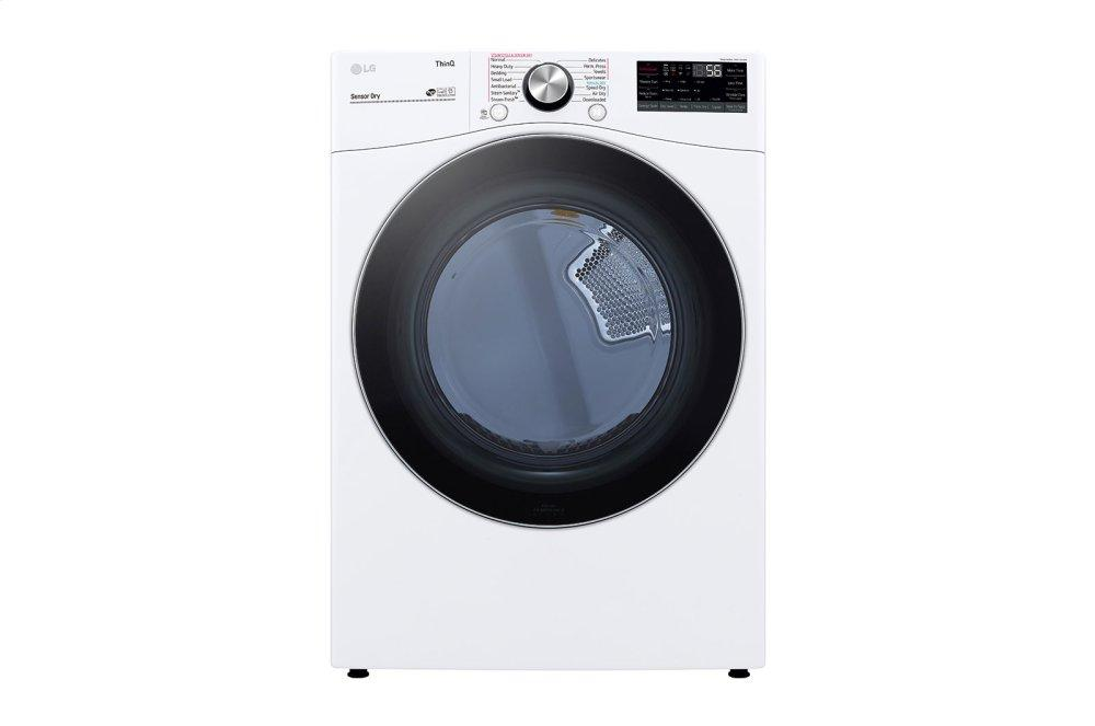 7.4 cu. ft. Ultra Large Capacity Smart wi-fi Enabled Front Load Electric Dryer with TurboSteam™ and Built-In Intelligence Photo #2