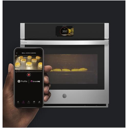 """GE Appliances - GE Profile™ 30"""" Smart Built-In Convection Single Wall Oven with In-Oven Camera and No Preheat Air Fry"""