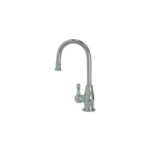 Mountain Plumbing - Hot Water Faucet with Traditional Curved Body & Curved Handle - PVD Brushed Bronze