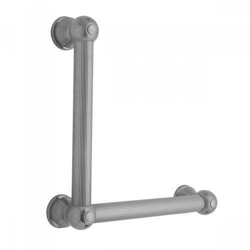 Pewter - G33 24H x 32W 90° Right Hand Grab Bar