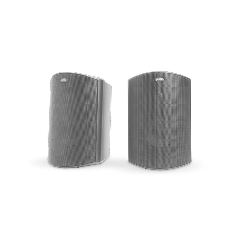 """ALL WEATHER OUTDOOR LOUDSPEAKERS WITH 4.5"""" DRIVERS AND 3/4"""" TWEETERS (PAIR) in Black"""