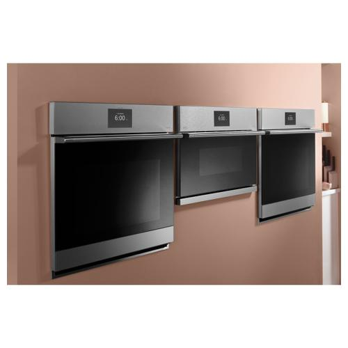 "Café 27"" Smart Single Wall Oven with Convection in Platinum Glass"