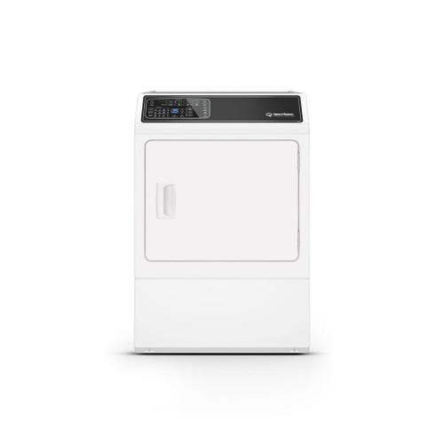 DF7 White Gas Dryer with Front Control  5-Year Warranty