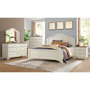 Grand Haven - Queen/king Panel Bed Rails - Feathered White Finish Product Image