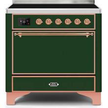"36"" Inch Emerald Green Freestanding Range"