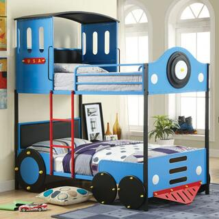 Retro Express II Twin/Twin Bunk Bed