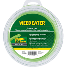 """Weed Eater Trimmer Lines .080"""" x 80' Round Trimmer Line"""
