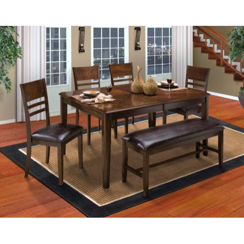 Gallery - Horizontal Slat Counter Bench
