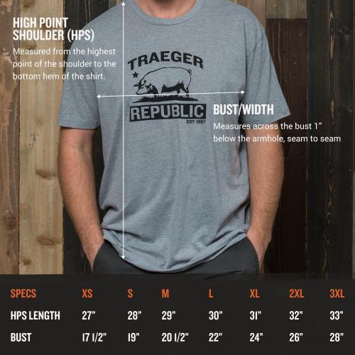 Traeger Grills - Republic of Traeger T-Shirt - XL