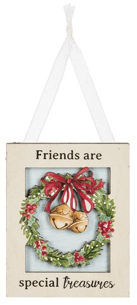 Ornament - Friends are/treasures