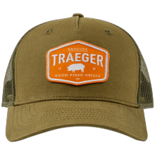 See Details - Traeger Certified Curved Brim Trucker Hat