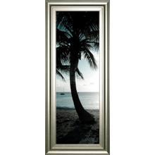 """Cool Bimini Palms Il"" By Susan Bryant Framed Print Wall Art"