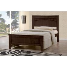 7579 Wooden Platform Bed - TWIN