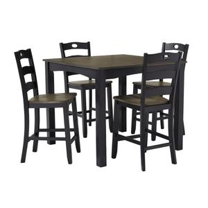 Ashley FurnitureSIGNATURE DESIGN BY ASHLEYFroshburg Counter Height Dining Room Table and Bar Stools (set of 5)