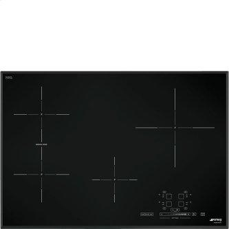 "78,2 CM (approx. 31""), Induction cooktop, black, standard building type"